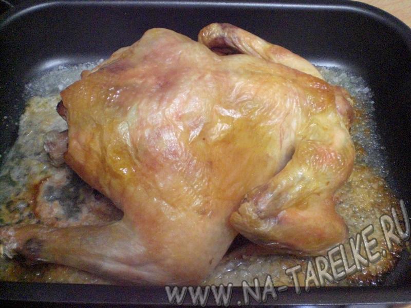 Рецепты запеченной курицы с пошагово